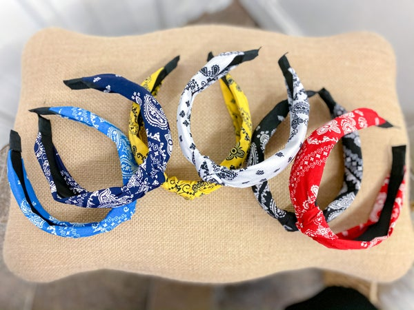 Bandana Headband (ONLINE ONLY)*