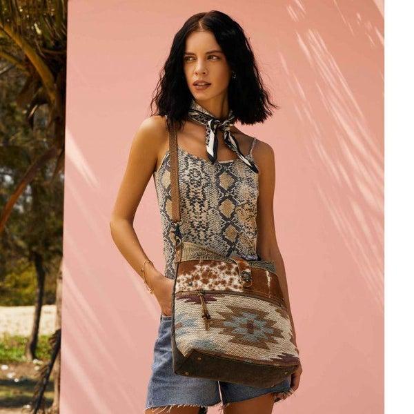 Myra Placid Beige Shoulder Bag