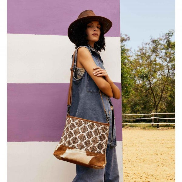 Myra Wave-Like Handbag