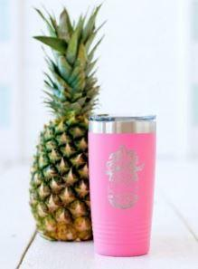 Beach Time Insulated Tumbler 20oz
