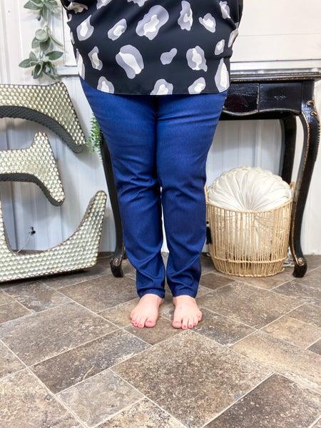 Denim Blue Skinny Pants