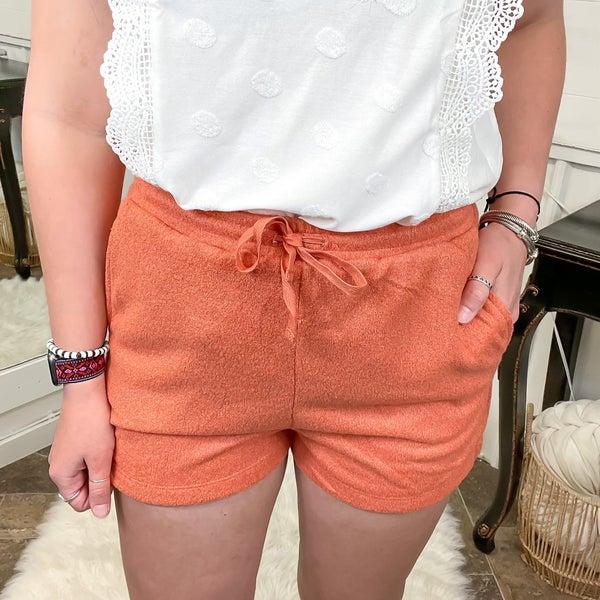 Copper Soft Knit Shorts