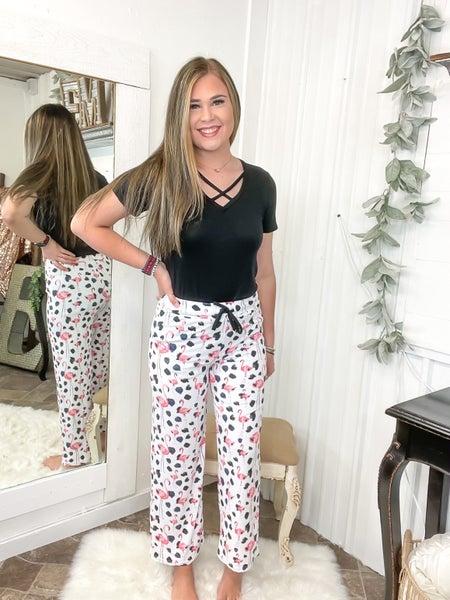 Flamingo Spots Lounge Pants