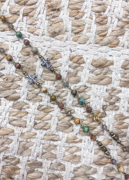 Charly's Treasures - Sicily Collection Long Necklace
