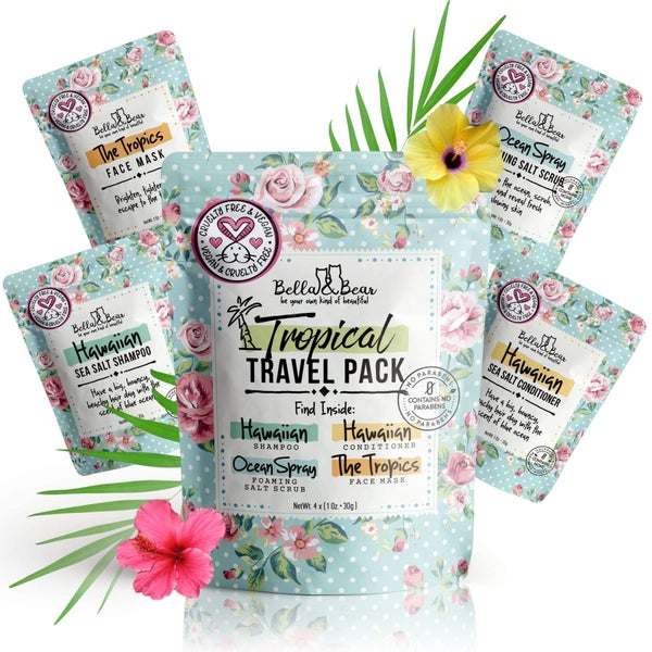 Bella & Bear Tropical Travel Pack