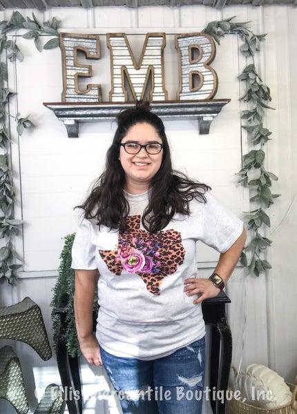 Leopard Texas T-Shirt