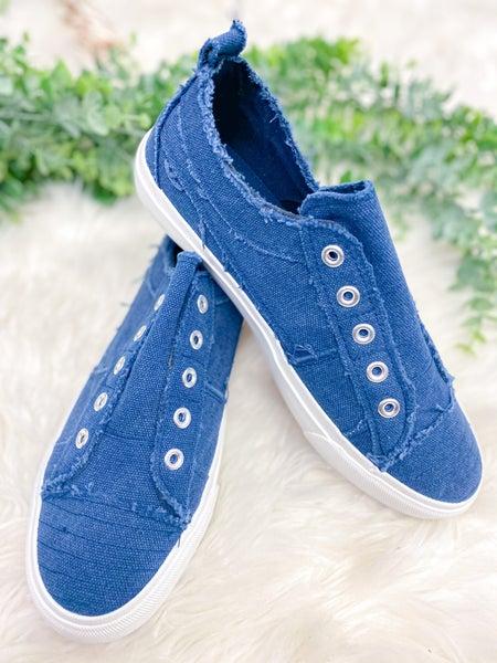 Corkys Babalu Sneaker - Navy