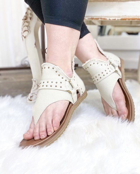 Very G Journey Sandal Cream - ALL SALES FINAL -