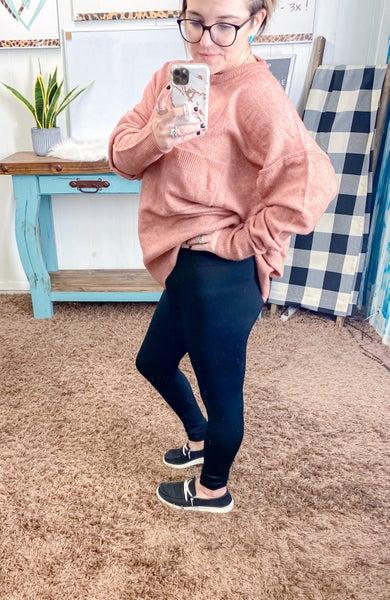 Solid Full Length Leggings