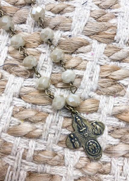Charly's Treasures - Venice Short Cross Necklace