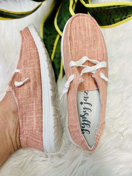 Blush Holly Boat Shoe