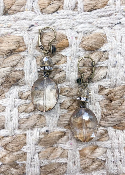 Charly's Treasures - Sicily Drop Earrings