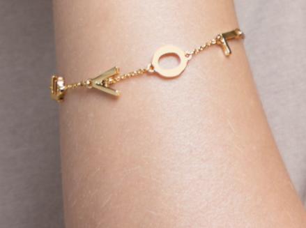 Love Letter Charm Bracelet