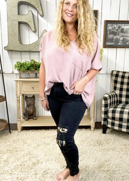 Judy Blue Black Leopard Patch Jeans - JB82168