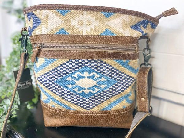 Myra Indigo Craft Shoulder Bag