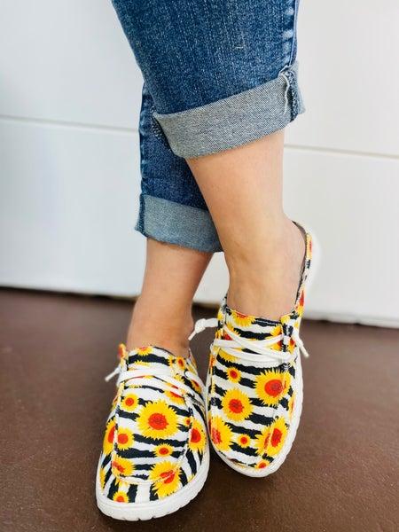 Gypsy Jazz Layla 2 Sneaker - White Yellow