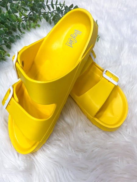 Corkys Waterslide Sandal Yellow
