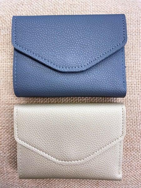 Snap Button Billfold Wallet