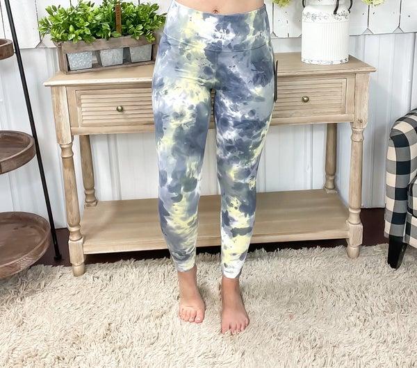 Galaxy Tie Dye High Waist Leggings