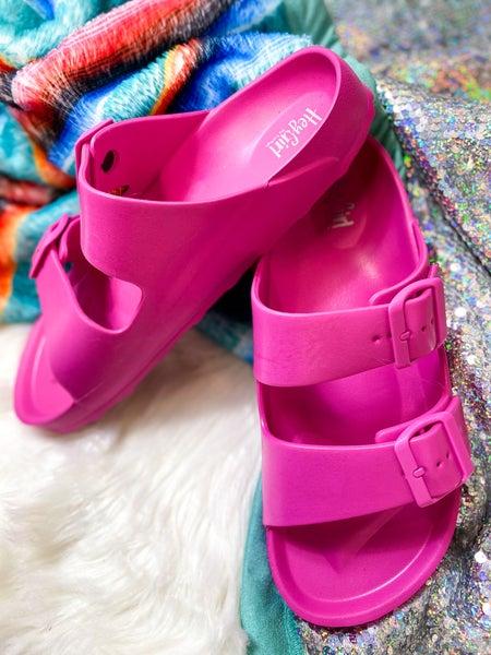 Corkys Waterslide Sandal Pink *ALL SALES FINAL*