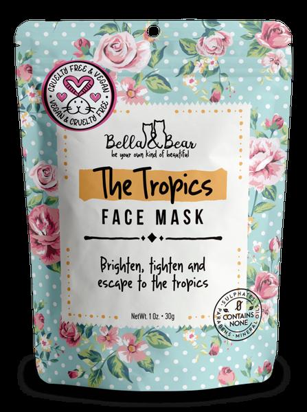 Bella & Bear The Tropics Face Mask Travel Size
