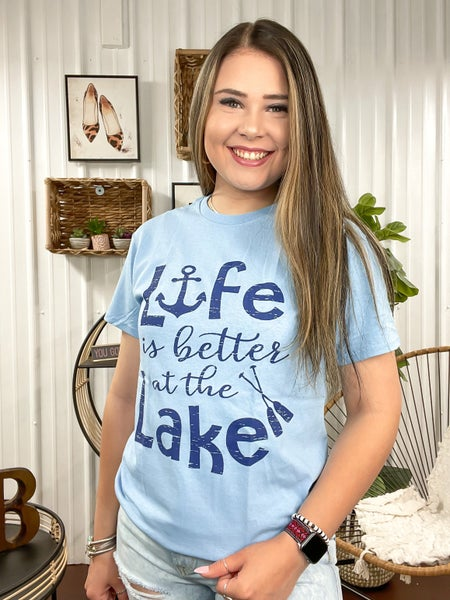 * Life Is Better At The Lake T-Shirt