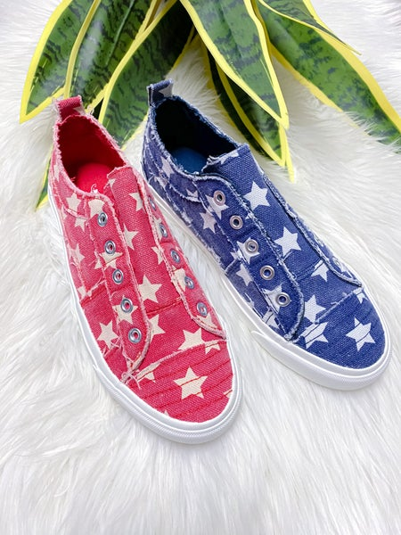 Corkys Babalu Stars Sneaker {Two Colors}