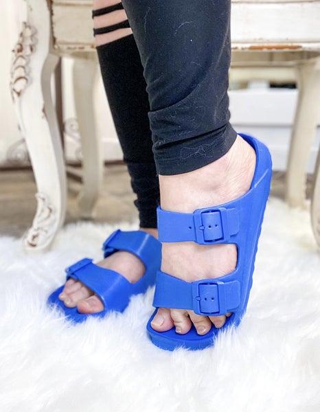 Corkys Waterslide Sandal Blue *ALL SALES FINAL*