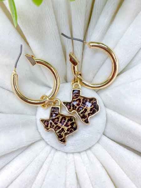 Texas Dangle Loop Earrings