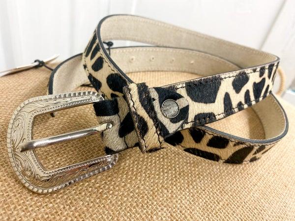Myra Vintage Hairon Belt