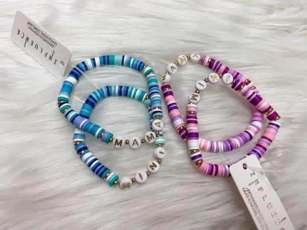 Mama & Mini Beaded Bracelet Set