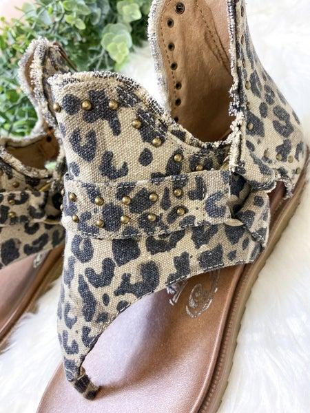 Very G Journey Sandal Leopard - ALL SALES FINAL -