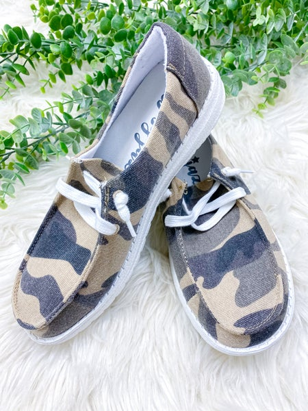 Gypsy Jazz Winnie Sneaker - Camo