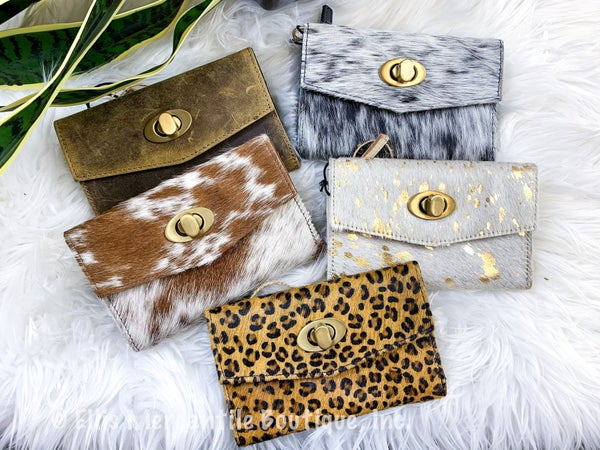 Myra Eternal Classic Leather & Hairon Wallet