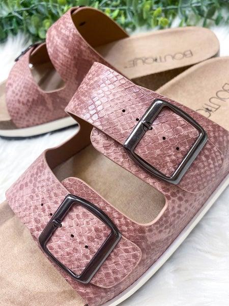 Corkys Beach Babe Sandal - Pink Snake