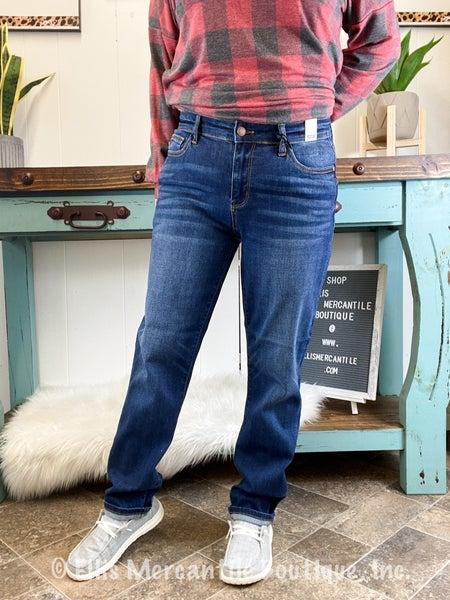 Judy Blue Dark Wash Boyfriend Jeans - JB82195