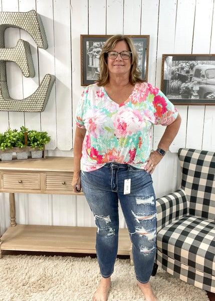 Judy Blue Boyfriend Fit Jeans - JB82156MD
