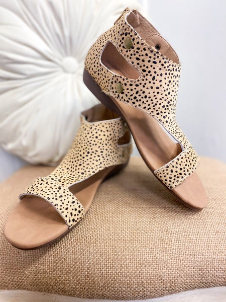Corkys Jayde Brown Speckled Sandal