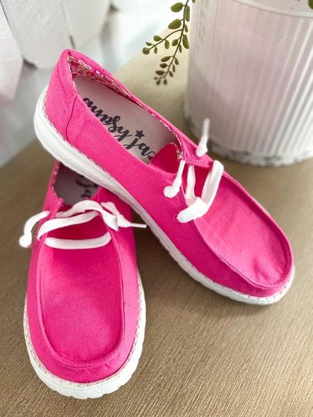Gypsy Jazz Holly 3 Boat Shoe - Pink