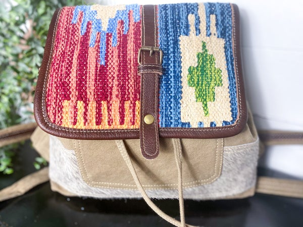 Myra Amber & Azure Backpack Bag