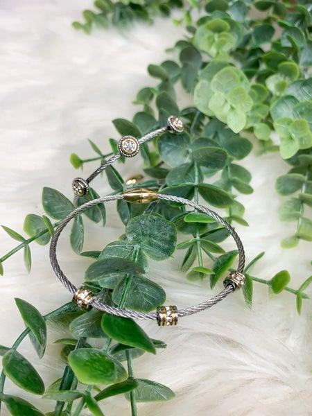 Cable Confetti Bracelet