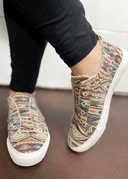 Corkys Babalu Sneaker - Aztec
