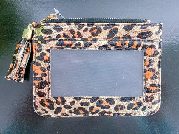 Shiny Leopard Cardholder
