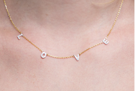 Love Letter Necklace {Comes in 2 Colors}