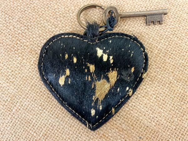Myra Heartfelt Keychain