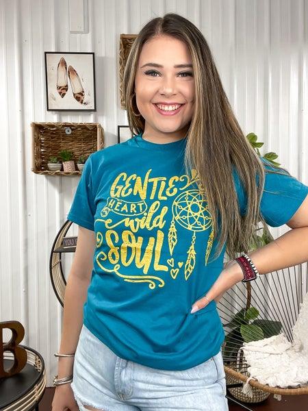 Gentle Heart Wild Soul T-Shirt