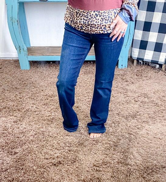 Judy Blue Boot Cut Mid Rise Jeans - JB82361DK