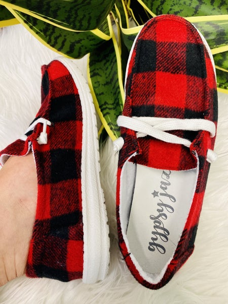 Red Heather Shoe