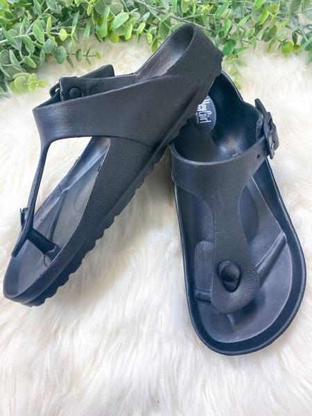 Corkys Jet Ski Sandal Black