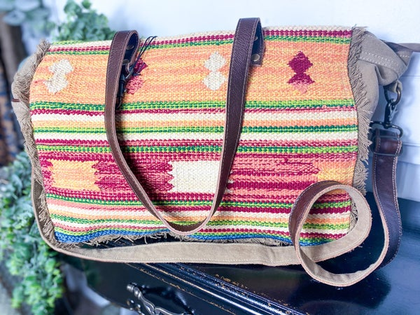 Myra Technicolor Weekender Bag